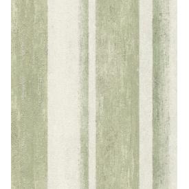 Виниловые обои на флизелиновой основе Rasch Linares 617771 Белый-Зеленый