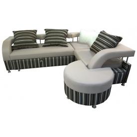 Угловой диван Ribeka Миллениум Светло-серый (УМ-603)