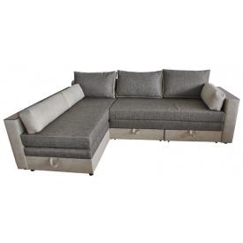 Угловой диван Ribeka Лорд В+ Светло-серый (05H06)
