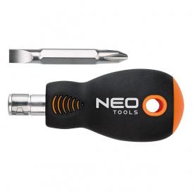 Викрутка з двухстороней насадкою NEO Tools SL6xPH2