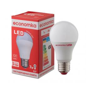 Светодиодная лампа Economka LED A60 7W E27 2800K
