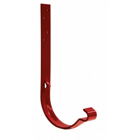 Крюк желоба Bilka 150/100 мм 160 мм краcный RAL 3011