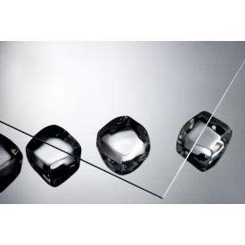 Лист гладкий прозрачный полистирол ТОМО design 5x1000x1000 мм