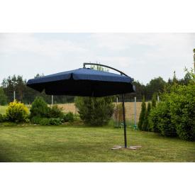 Садовий парасольку Furnide темно-синій 300 см