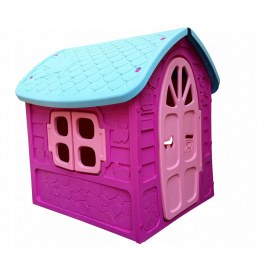 Дитячий ігровий будиночок пластиковий садовий Mochtoys Dorex 5076