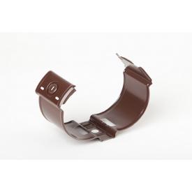 Держатель трубы камень Plannja 90 коричневый