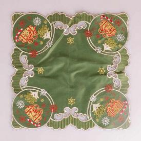 Серветка Lefard 35x35 см зелена 829-110