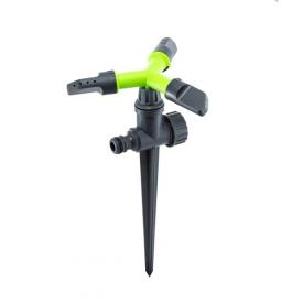 Дождеватель Presto-PS ороситель круговой Луч на ножке (8105G)