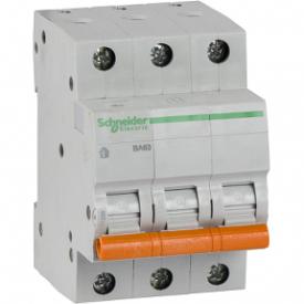 Автоматический выключатель ВА63 3П 32A C 4,5 кА