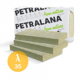 Утеплитель Petralana Petravent-L 1000х600х100 50 кг/м3