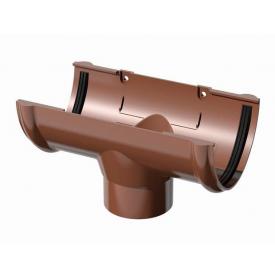 Воронка ринви Verat Техноніколь 125/82 мм коричнева