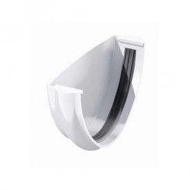 Заглушка ринви Verat Техноніколь 125/82 мм біла