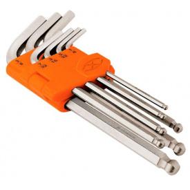 Набор шестигранников удлиненных TRUPER в пластиковой кассете, 10шт (ALLX-7M)