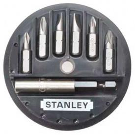 Набор бит STANLEY Philips, Pozidriv, 25 мм, 7 шт, пластиковая коробка (1-68-737)