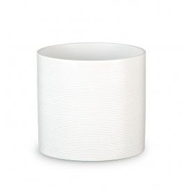 Кашпо для цветов Scheurich Inspiration 0,982л керамическое молочное