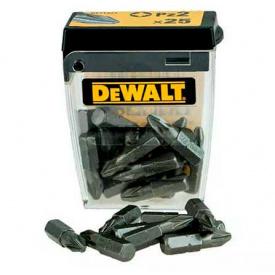 Набор бит DeWALT Pz2, 25 мм, 25 шт (DT71521)