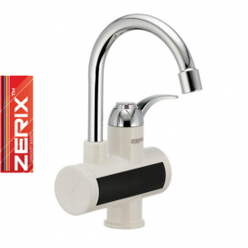 Электрический проточный водонагреватель Zerix ELW 021E (с индикатором темп) на мойку 3 кВт