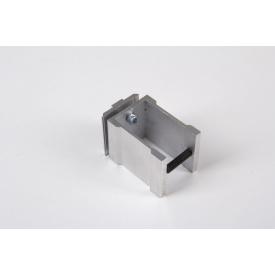 З'єднувальне кріплення до алюмінієвої квадратної труби 45х45 НЕ анодируване для меблевих конструкцій