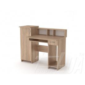 Комп'ютерний стіл Компаніт ПІ-ПІ-2 1175х956х600 мм