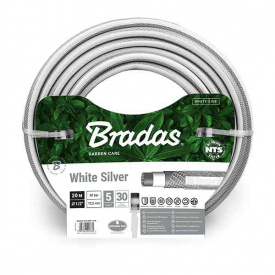 "Шланг для поливу Bradas WHITE SILVER 1/2"" 50м (WWS1/250)"