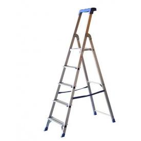 Стремянка профессиональная VIRASTAR ALB алюминиевая 1x5 (ALB4-AO14-105)