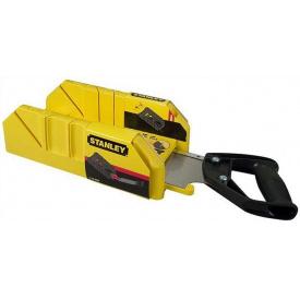 Стусло с ножовкой STANLEY 350x143x95 мм (1-19-800)