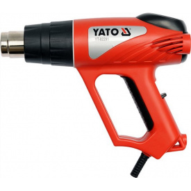 Фен технический сетевой YATO 2000Вт (YT-82291)