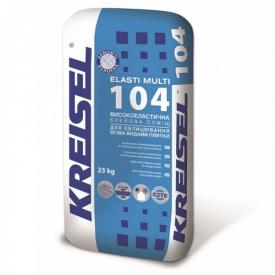 Клеевая смесь для плитки эластичная Kreisel 104 25кг