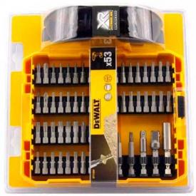 Набор бит и насадок DeWALT Torx, Philips, Pozidriv, магнитный держатель, 53 шт (DT71550)