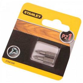 Набор бит STANLEY односторонняя, Pz1, 25 мм, 2 шт (STA61040)