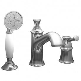 PODZIMA LEDOVE врізний змішувач для ванни на три отвори IMPRESE ZMK01170105