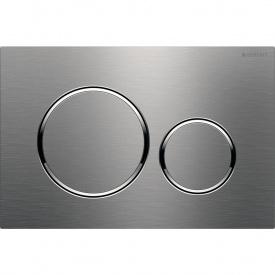 Sigma20 Смывная клавиша двойной смыв нержавеющая сталь матовая полированная матовая GEBERIT 115.882.SN.1