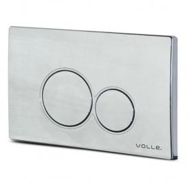 Клавиша смыва Volle VISO хром пластик 222121
