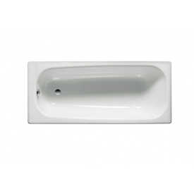CONTESA ванна 170x70см прямоугольная с ножками Roca A235860000+A291021000