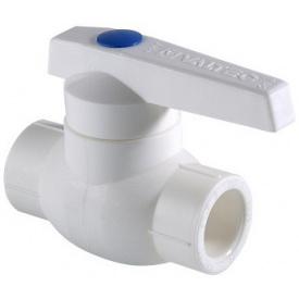 Поліпропіленовий кран Valtec PPR гір вода 25 мм VTp.743.0.025
