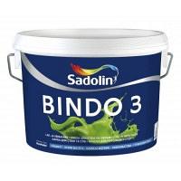 Sadolin Bindo 3 Prof краска интерьерная, 20 л