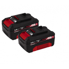 Набор 2 аккумулятора Einhell PXC-Twinpack 18V 4,0Ah (4511489)