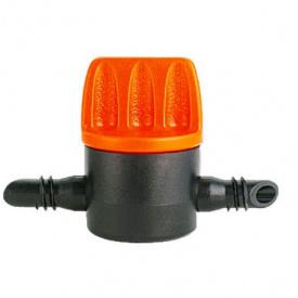 Кран Claber 6x6мм для трубки крапельного поливу 1/45шт (912700000)