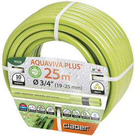 "Шланг для поливу Claber Aquaviva Plus 3/4"" 25м (90080000)"