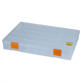 Органайзер пластиковий Sigma прозорий 380х285х56мм (7418061)