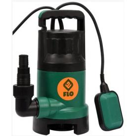Насос дренажный для грязной воды FLO сетевой 1100Вт 16000 л/ч (79775)