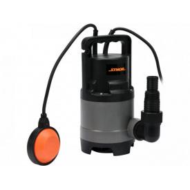 Насос дренажный для грязной воды STHOR сетевой 400Вт 8000 л/ч (79781)