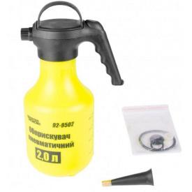 Опрыскиватель пневматический MASTER TOOL ручной 3л удлиненный носик (92-9503)