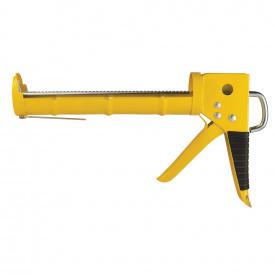 Пистолет для герметиков с трещоткой полузакрытый Sigma 225мм (2723081)