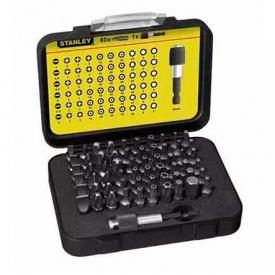 Набор бит STANLEY Expert, Torx, Philips, Pozidriv, 25 мм, 60 шт, пластиковая коробка (1-13-902)
