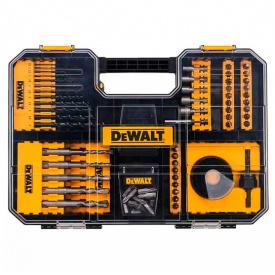 Набор бит и сверл DeWALT Phillips, Pozidriv, Torx, Slotted, 25 мм, 109 шт (DT71583)
