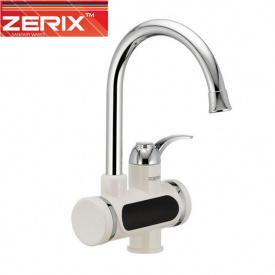 Электрический проточный водонагреватель Zerix ELW 011E (с индикатором темп) на мойку 3 кВт