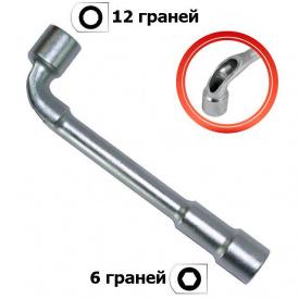 HT-1612 Ключ торцевий з отвором L-подібний 12 мм