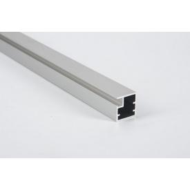 Алюминиевый рамочный профиль для мебельных фасадов М 1 5,95 м алюминий BRUSH