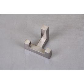 Мебельный крючок GTV К2202 двойной шлифованная сталь
